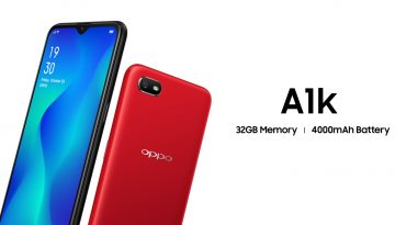 OPPO redefines budget segment, launches A1K with 32GB ROM and 4000 mAh battery